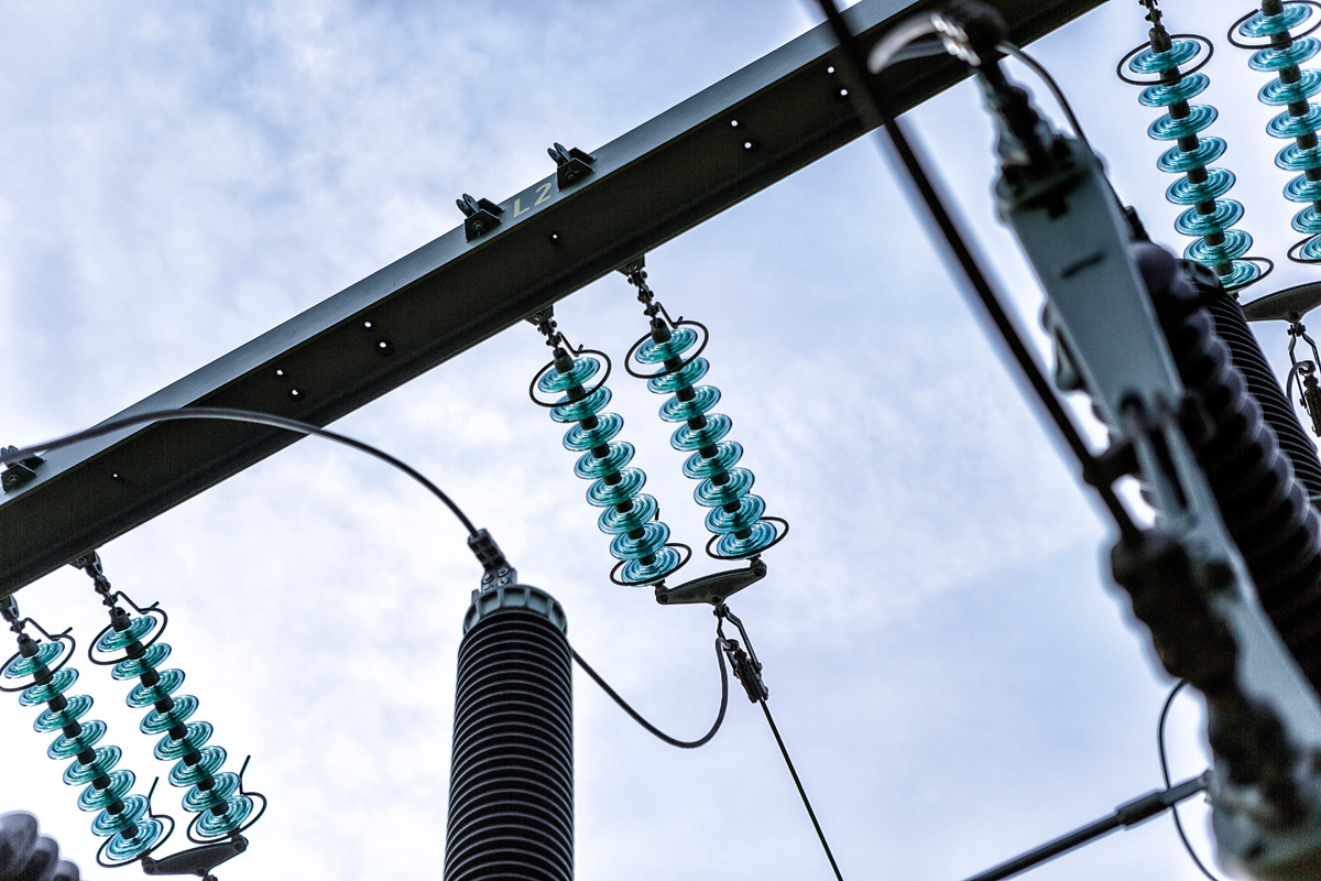 Stromleitung Lübeck