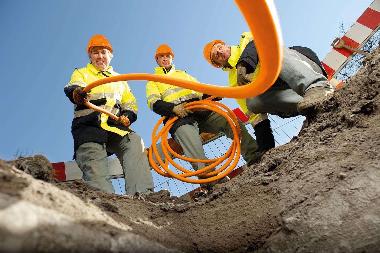 Bauarbeiten Gasleitung