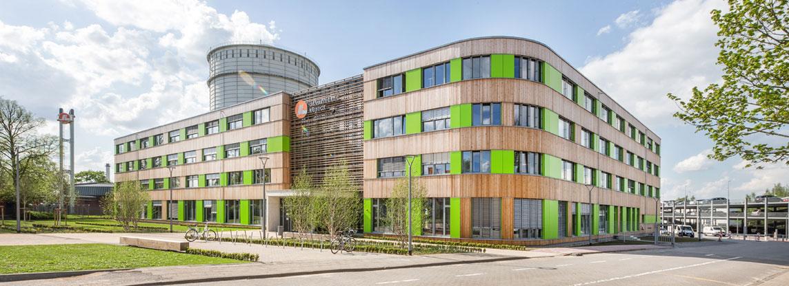 Unser neues Gebäude am neuen Standort